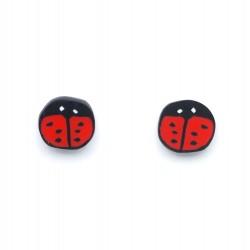 Boucles d'oreilles Lady Bug