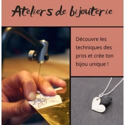 Atelier de bijouterie - argent 925 - mini groupe