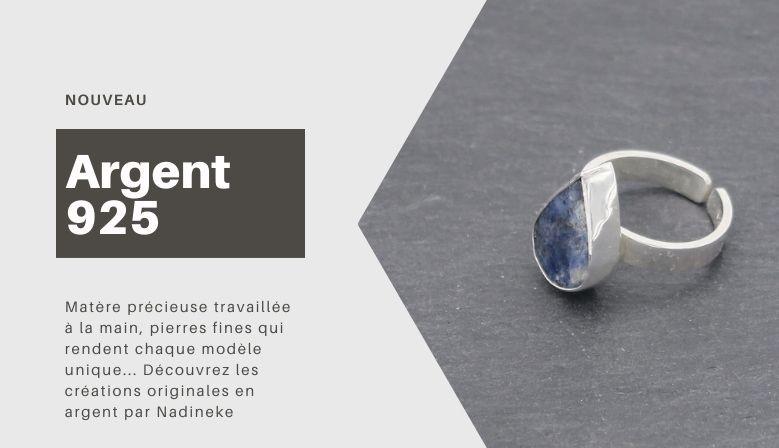 Bijoux artisanaux en argent 925